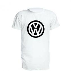 Удлиненная футболка Volkswagen - FatLine