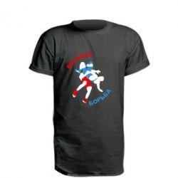 Подовжена футболка Вільна боротьба - FatLine