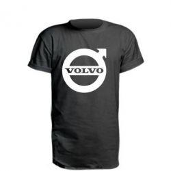 Удлиненная футболка Volvo