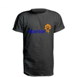 Подовжена футболка Warrior
