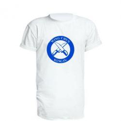 Подовжена футболка Wing Chun kung fu