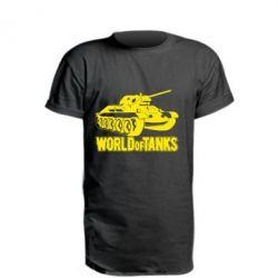 Подовжена футболка World Of Tanks Game