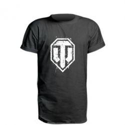 Удлиненная футболка WOT Logo