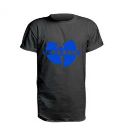 Удлиненная футболка Wu-Tang forever