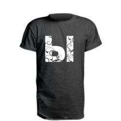 Подовжена футболка И