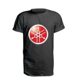 Удлиненная футболка Yamaha Logo 3D