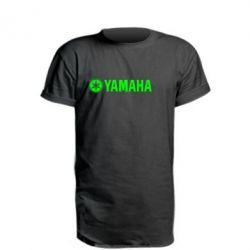 Удлиненная футболка Yamaha Logo