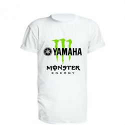 Удлиненная футболка Yamaha Monster Energy