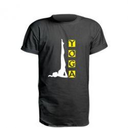 Удлиненная футболка Yoga