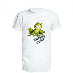 Подовжена футболка Жабка - FatLine
