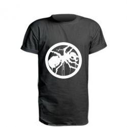 Удлиненная футболка Жирный муравей
