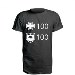 Удлиненная футболка Жизнь и броня - FatLine