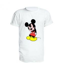 Подовжена футболка Злий Міккі Маус