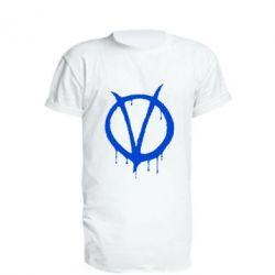 Подовжена футболка Знак Вендети