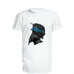 Удлиненная футболка Zoom