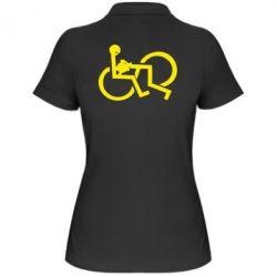 Жіноча футболка поло задоволення - FatLine
