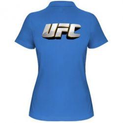 Женская футболка поло UFC 3D - FatLine