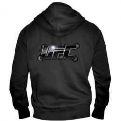 Мужская толстовка на молнии UFC Art - FatLine