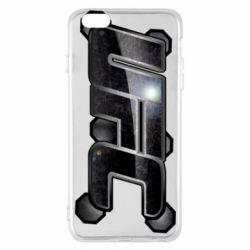 Чехол для iPhone 6 Plus/6S Plus UFC Art