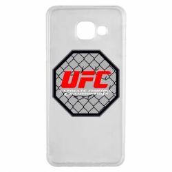 Чехол для Samsung A3 2016 UFC Cage