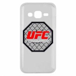 Чехол для Samsung J2 2015 UFC Cage