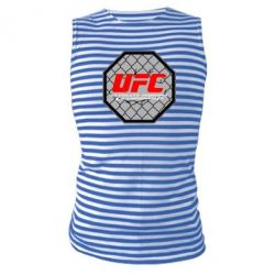 Майка-тельняшка UFC Cage - FatLine