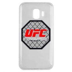 Чехол для Samsung J2 2018 UFC Cage
