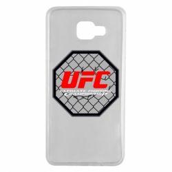 Чехол для Samsung A7 2016 UFC Cage