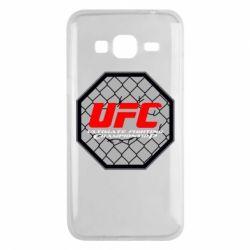 Чехол для Samsung J3 2016 UFC Cage