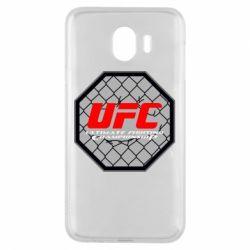 Чехол для Samsung J4 UFC Cage
