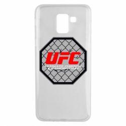 Чехол для Samsung J6 UFC Cage