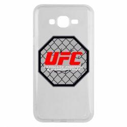 Чехол для Samsung J7 2015 UFC Cage