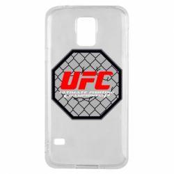 Чехол для Samsung S5 UFC Cage