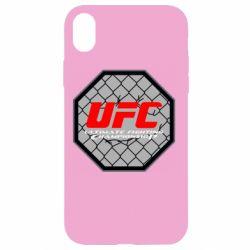 Чехол для iPhone XR UFC Cage