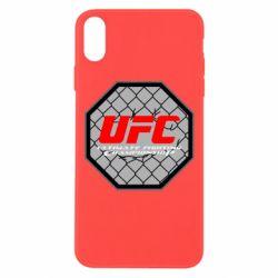 Чехол для iPhone Xs Max UFC Cage