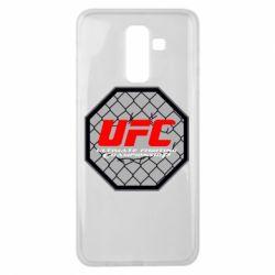 Чехол для Samsung J8 2018 UFC Cage