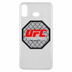 Чехол для Samsung A6s UFC Cage