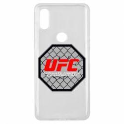 Чехол для Xiaomi Mi Mix 3 UFC Cage