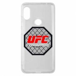 Чехол для Xiaomi Redmi Note 6 Pro UFC Cage