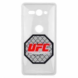 Купить Чехол для Sony Xperia XZ2 Compact UFC Cage, FatLine