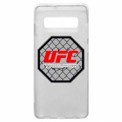 Чехол для Samsung S10+ UFC Cage
