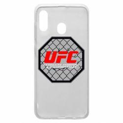 Чехол для Samsung A20 UFC Cage