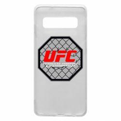 Чехол для Samsung S10 UFC Cage