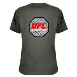 Камуфляжная футболка UFC Cage - FatLine