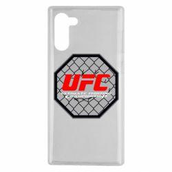 Чехол для Samsung Note 10 UFC Cage