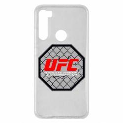 Чехол для Xiaomi Redmi Note 8 UFC Cage