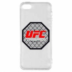 Чехол для iPhone5/5S/SE UFC Cage