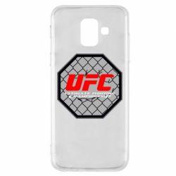 Чехол для Samsung A6 2018 UFC Cage