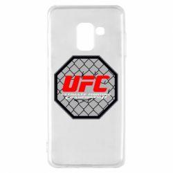 Чехол для Samsung A8 2018 UFC Cage