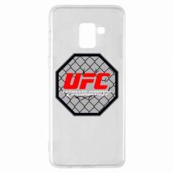 Чехол для Samsung A8+ 2018 UFC Cage